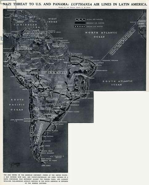 Lufthansa airlines in Latin America by G. H. Davis