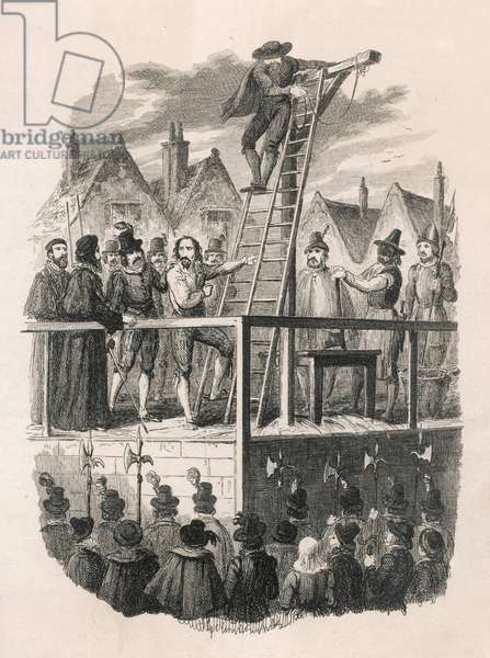 The Powder Conspiracy: Fawkes execution