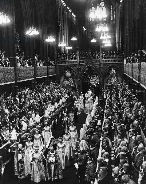 Coronation of Queen Elizabeth II, Westminster Abbey, 1953