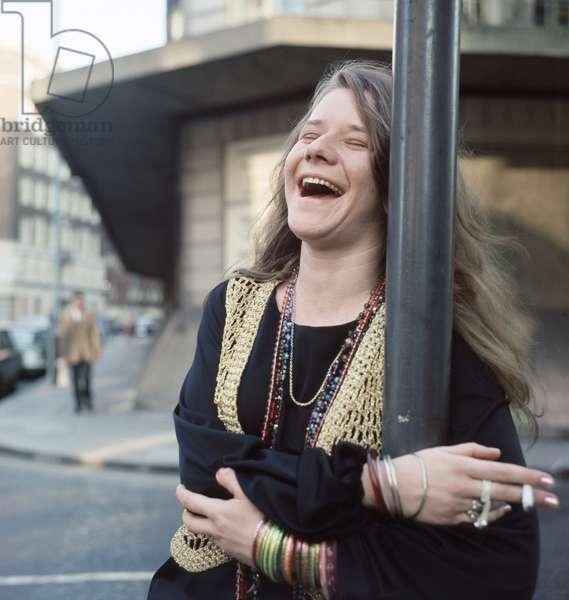 Janis Joplin in London, 1969 (photo)