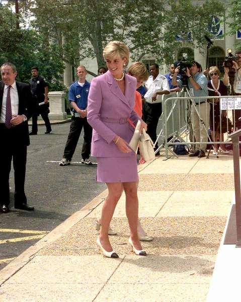Princess Diana in Washington, June 1997 (photo)