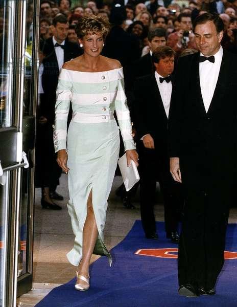 Princess Diana Theatres and Cinemas, April 1993 (photo)