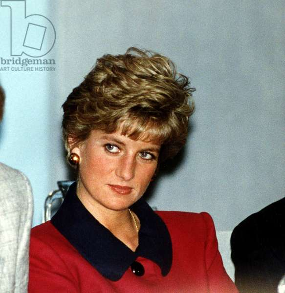 Princess Diana at the Child of Achievement Awards, February 1991 (photo)