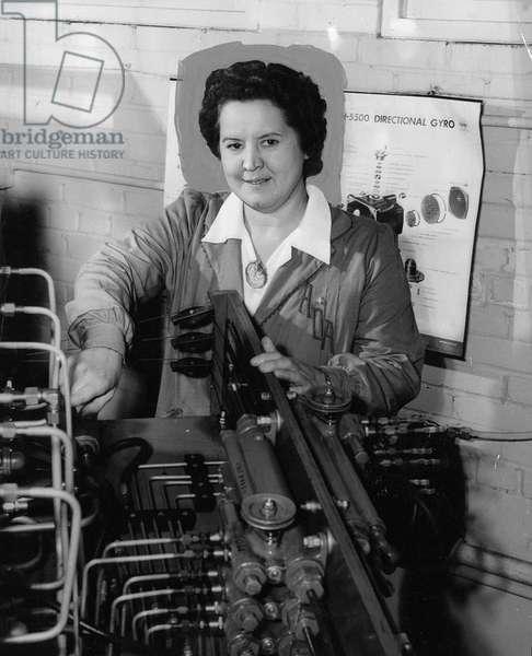 Gertrude Ederle, January 1947 (b/w photo)