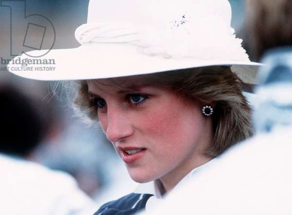 Princess Diana in Canada in Campbellton, June 1983 (photo)