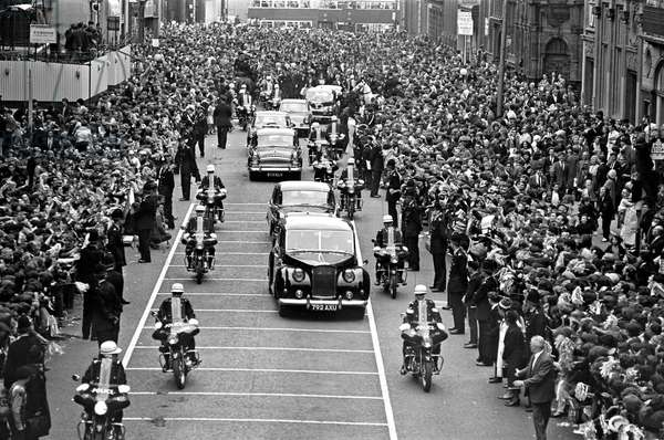 Northern premiere of the Beatles' film A Hard Day's Night, Liverpool, 1964