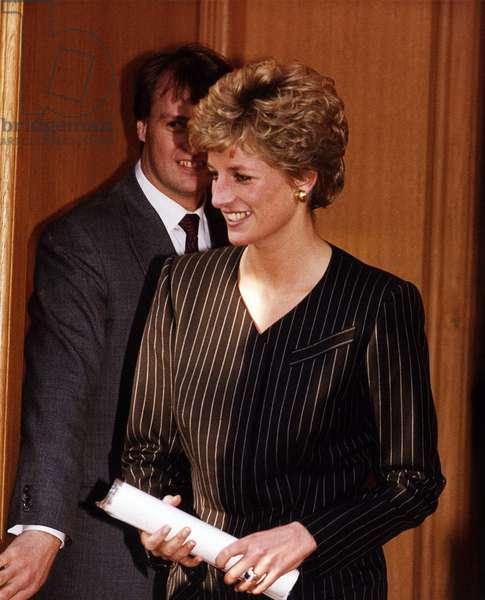 Princess Diana Royalty at the Regents Hotel, November 1993 (photo)