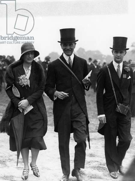 Lady Nancy Astor at Ascot meeting