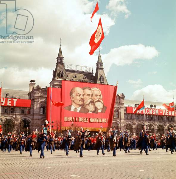 May Day Parade in Red Square, 9th May 1967 (photo)