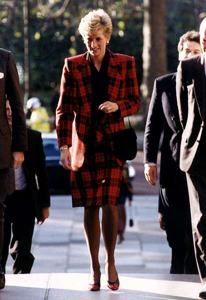 Princess Diana clothing, November 1990 (photo)