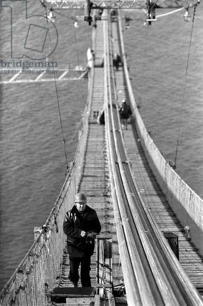 The Forth Road Bridge, June 1962