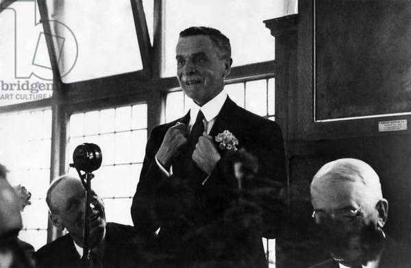 Lord Astor, June 1937 (b/w photo)
