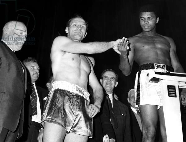 Muhammad Ali and Henry Cooper, May 1966