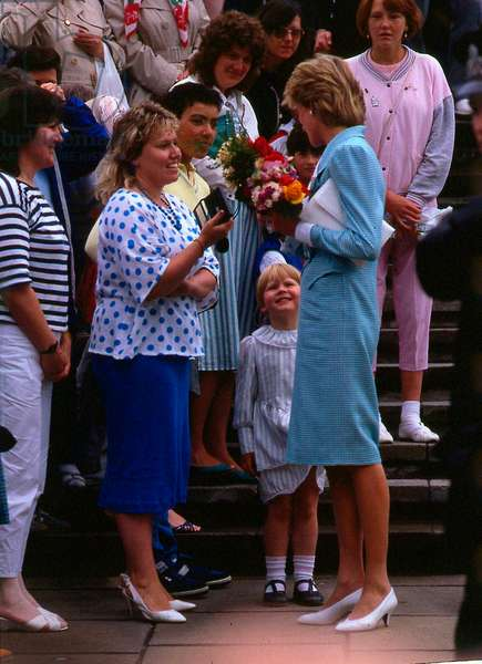 Princess Diana Princess of Wales, July 1986 (photo)