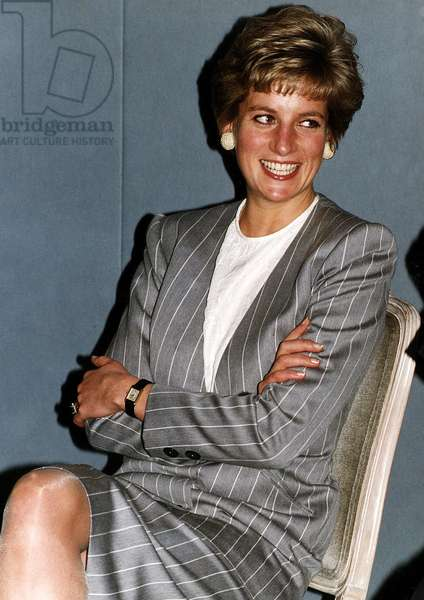 Princess Diana at the British Sports Association for the Disabled Awards, February 1991 (photo)