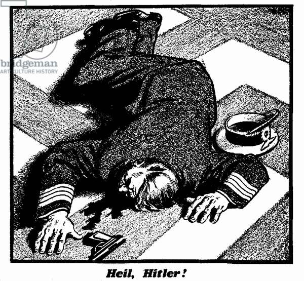 Heil Hitler!, 21st December 1939 (b/w illustration)