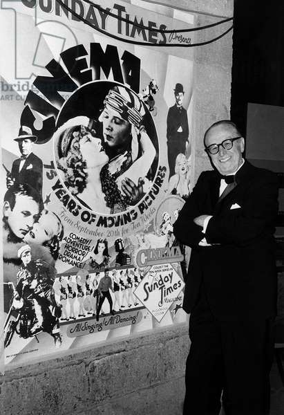 Harold Lloyd American actor silent movies 1970