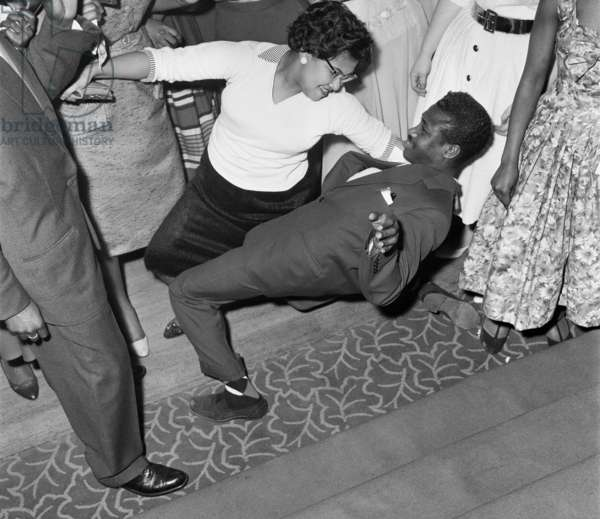 Couple dancing at The Notting Hill Carnival, 1959
