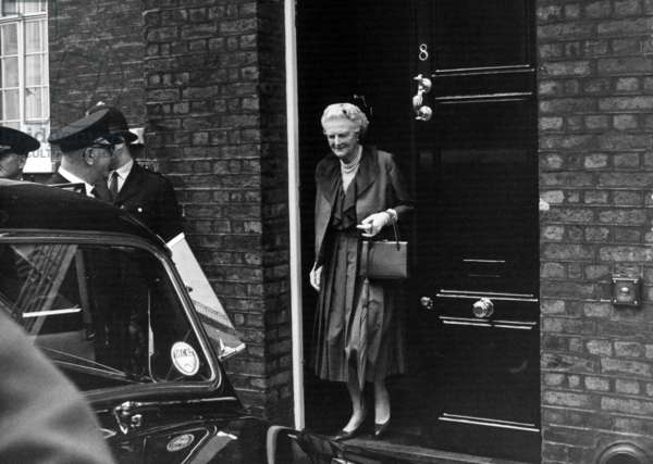 Lady Churchill. August 1962 (b/w photo)