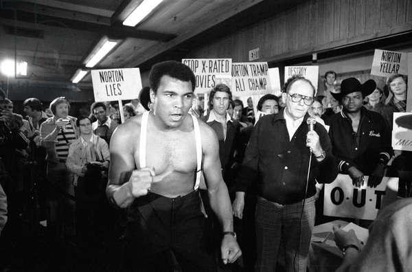 Muhammad Ali and Ken Norton, September 1976