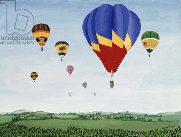 Ballooning over the Cotswolds