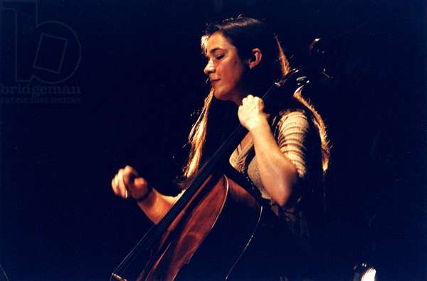 Jennifer Culp of the Kronos Quartet