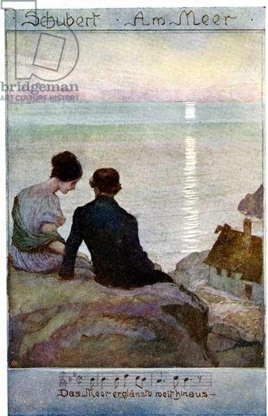 Franz Schubert's 'Am Meer'