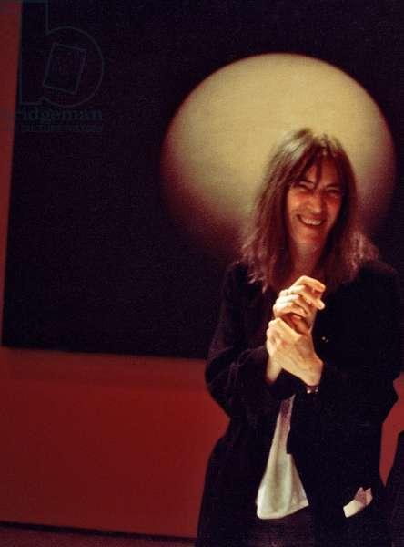 Patty Smith, Rome, Italy, 1995 (photo)