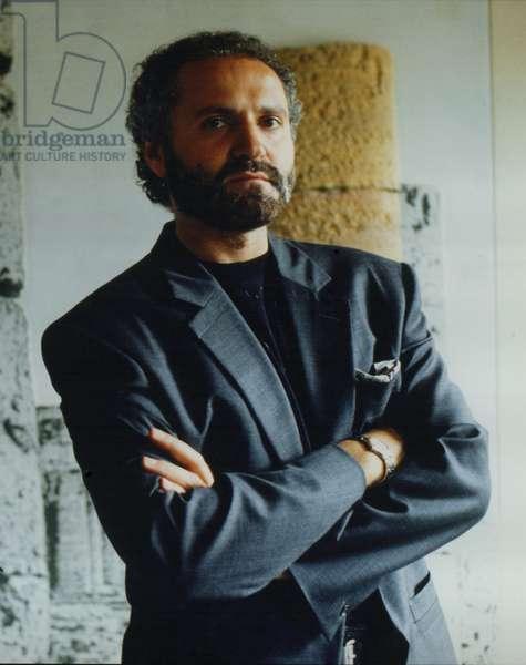 Gianni Versace, Milan, Italy, 1978 (photo)