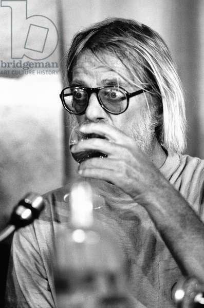 Hal Ashby, 1978 (b/w photo)