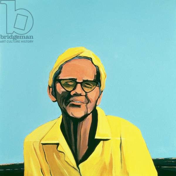 Cuban Portrait #13, 1996 (acrylic on canvas)
