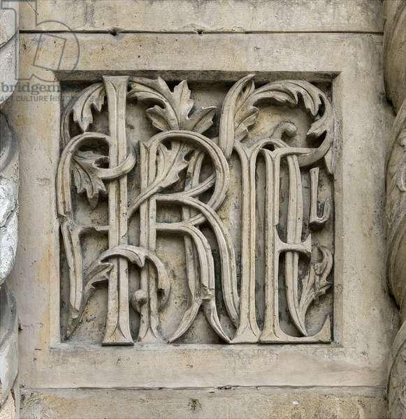 Portal Facade, Chiesa Santa Maria del Carmine, Milan, Italy (photo)