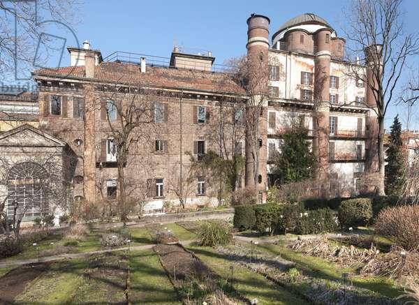 Botanical Garden, Palazzo Brera, Milan, Italy (photo)