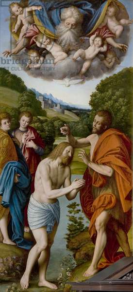 Baptism of Christ, 1540