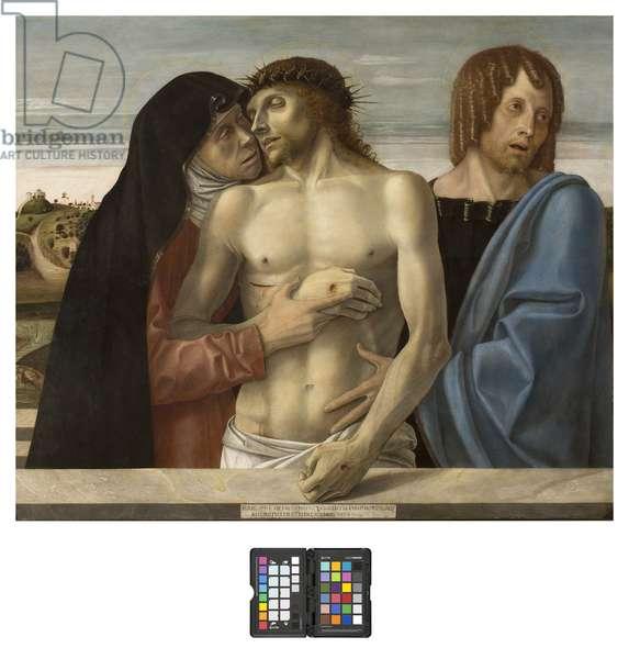 Pieta, c.1467-70 (tempera on panel)