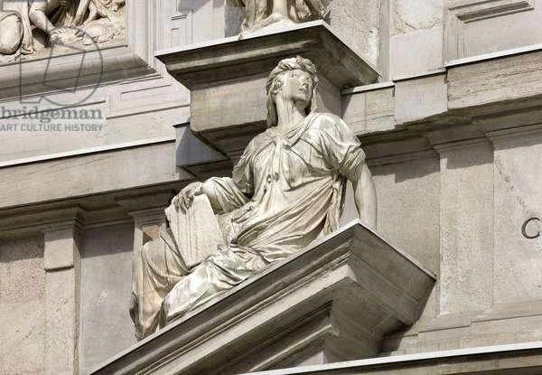 Sybil (Carrara marble)