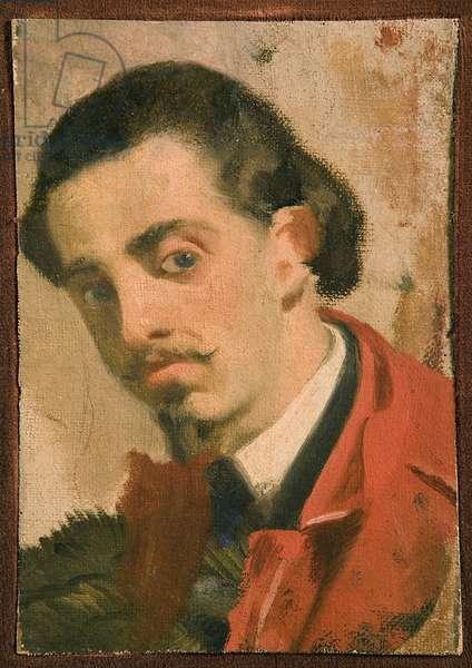 Portrait of a man, part of a triptych, 1860-68