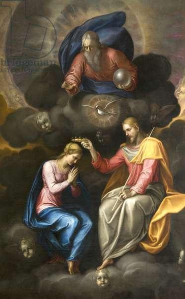 The Coronation of the Virgin, 1581