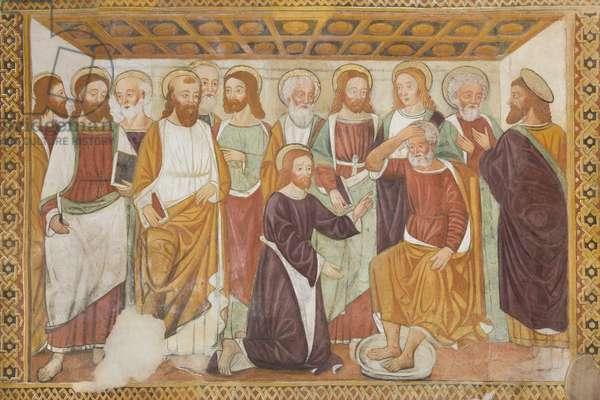 Foot Washing (fresco)