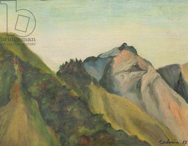 Paesaggio, 1937
