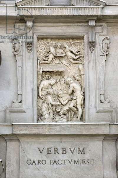 The Birth of Jesus (Carrara marble)