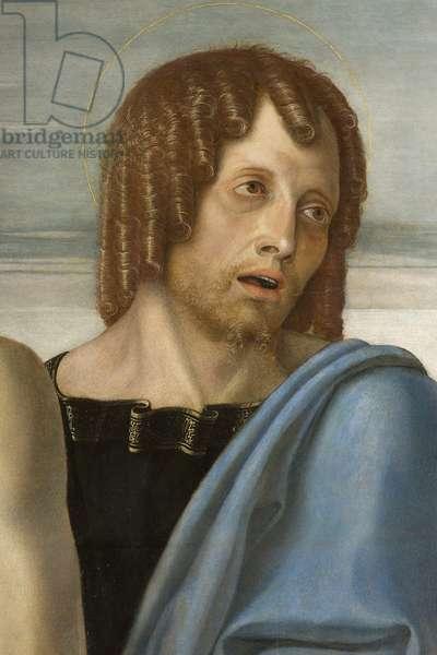 Saint John, Pieta, c.1467-70 (tempera on panel) (detail of 3704274)