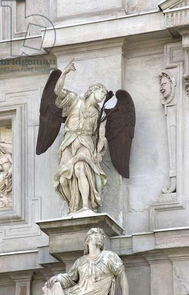 Angel, Annunciation (Carrara marble)