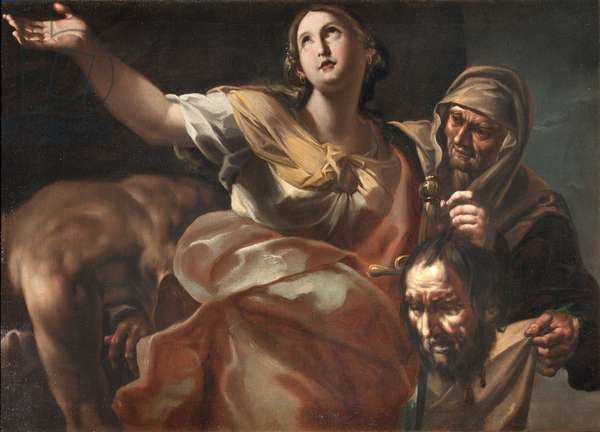 Judith and Holofernes, 1688