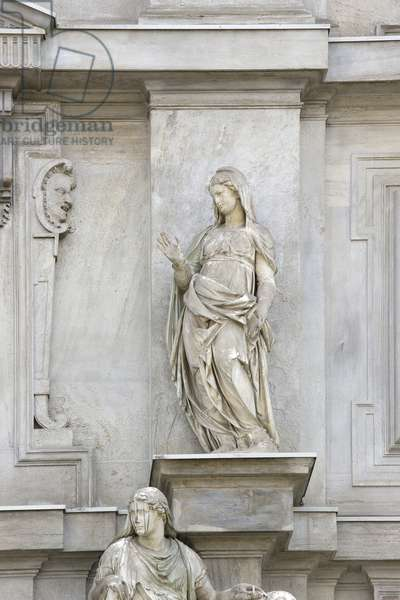 Our Lady of Annunciation (Carrara marble)