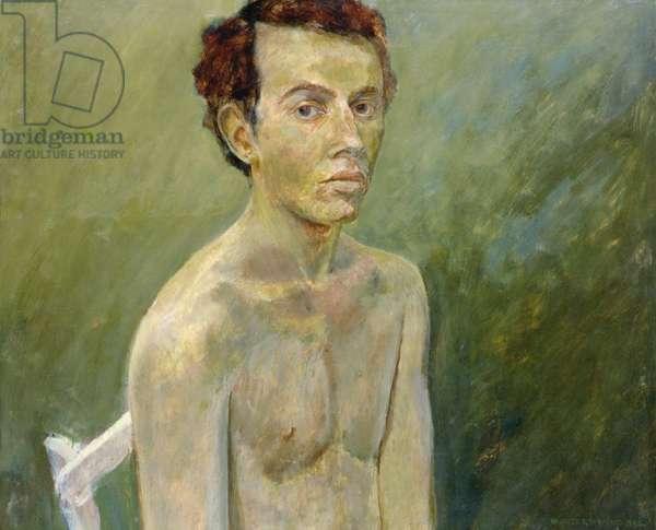 Self Portrait, 1968 (oil on board)