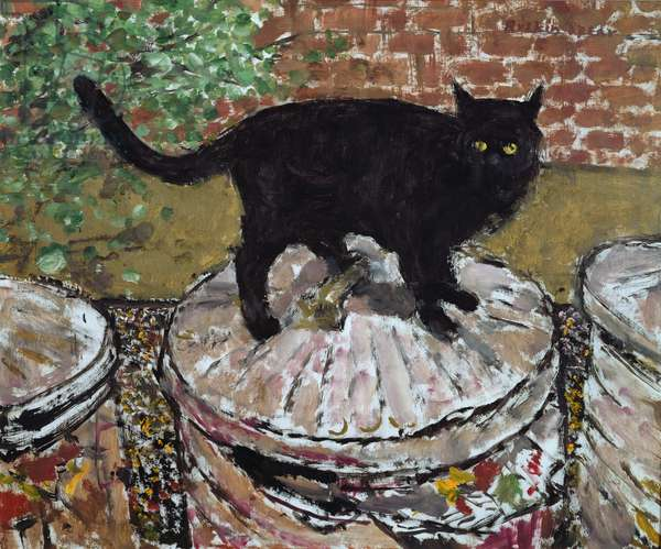 Top Cat (oil on canvas)