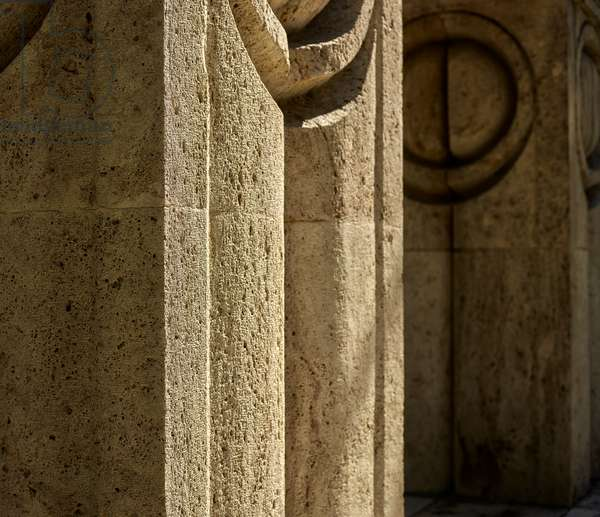 Gate of the Kiss by Constantin Brancusi