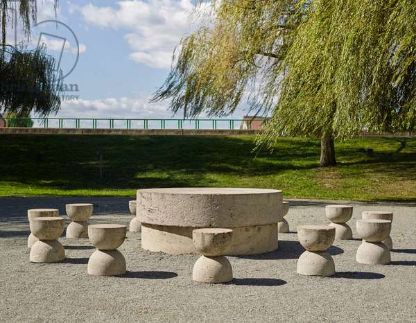 Table of Silence by Constantin Brancusi