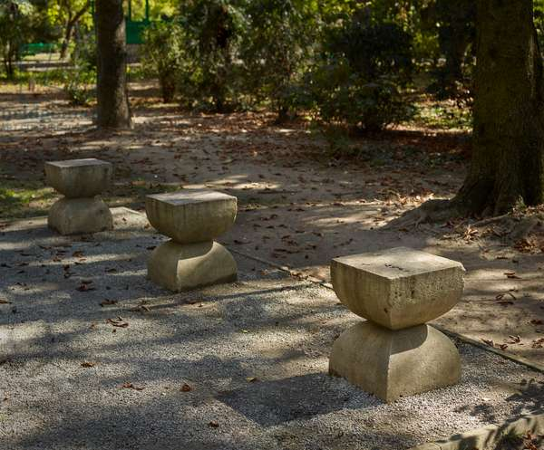Alley of Chairs by Constantin Brancusi